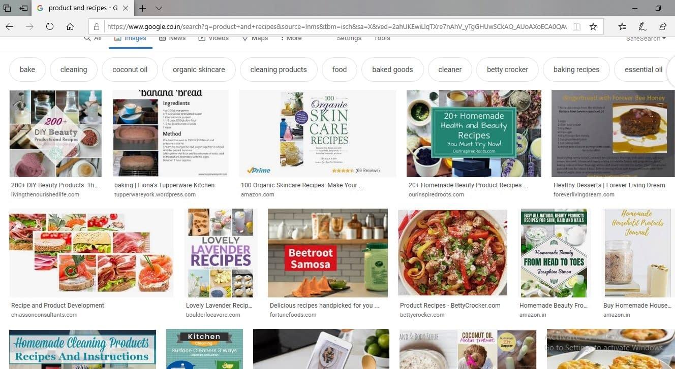 google image product recipes