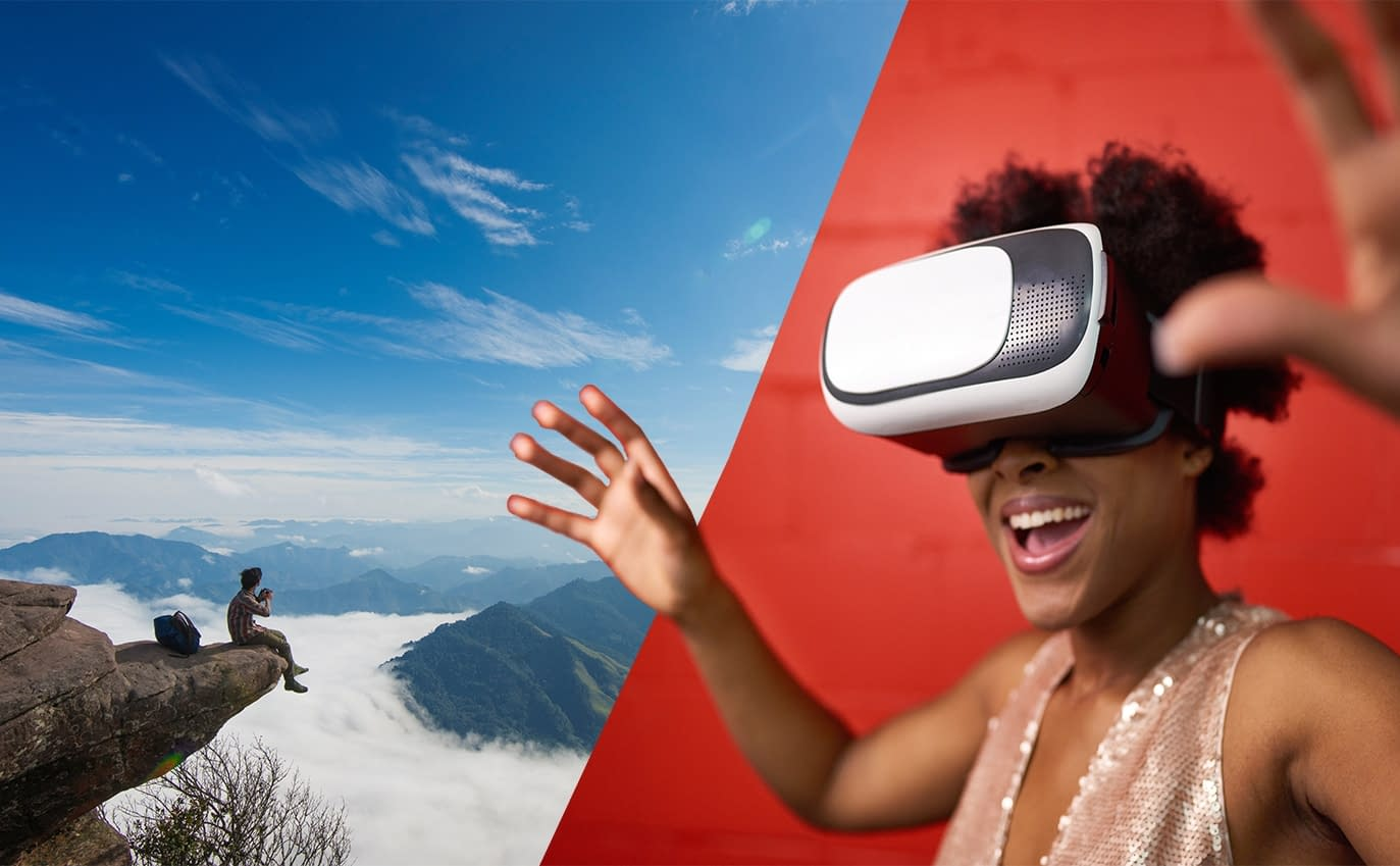 Virtual reality helping to treat fear of heights