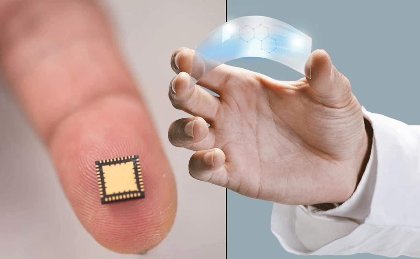 Graphene 'nano-origami' creates small microchips