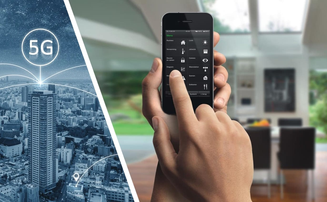 5G for smart home applications