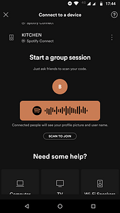 spotify group sessions