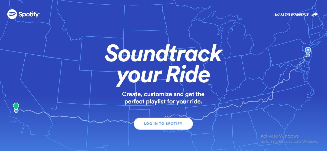 Spotify Roadride