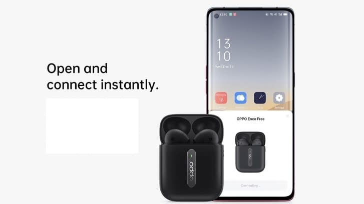 Oppo Enco Free TWS earphone