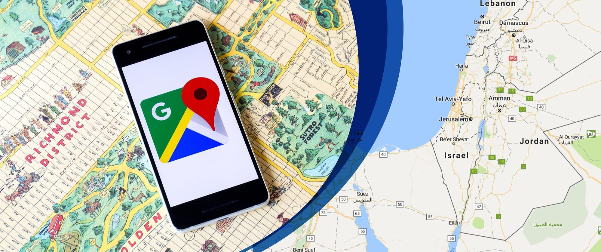 Why-Israel-Gaza-region-is-blurry-on-Google-Maps