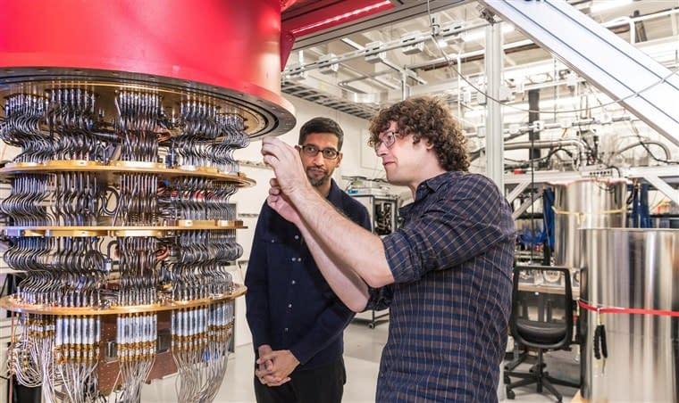 google tensorflow quantum