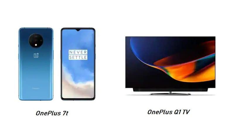 Oneplus tv and smartphone