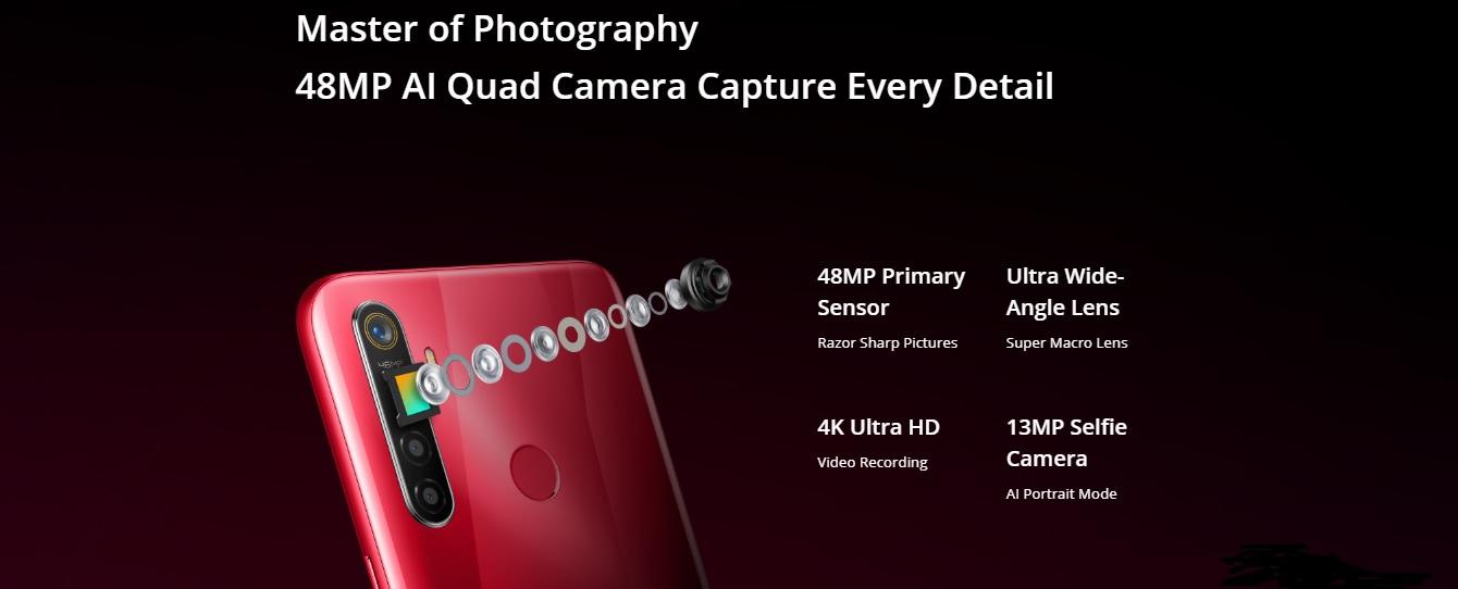 Realme 5s camera